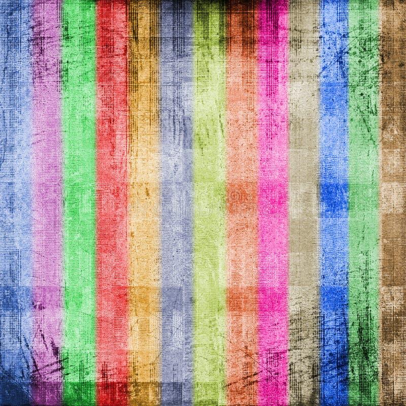 Fundo multicolor da pintura de Grunge para o projeto ilustração stock