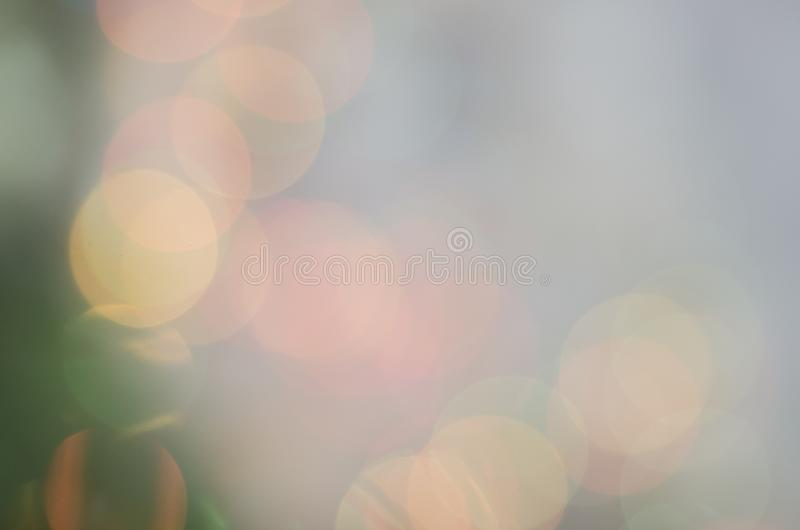 Fundo multicolorido bonito Boke do ano novo imagens de stock