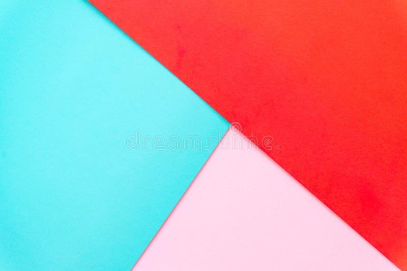 Fundo multicolorido de um papel de cores diferentes imagem de stock royalty free