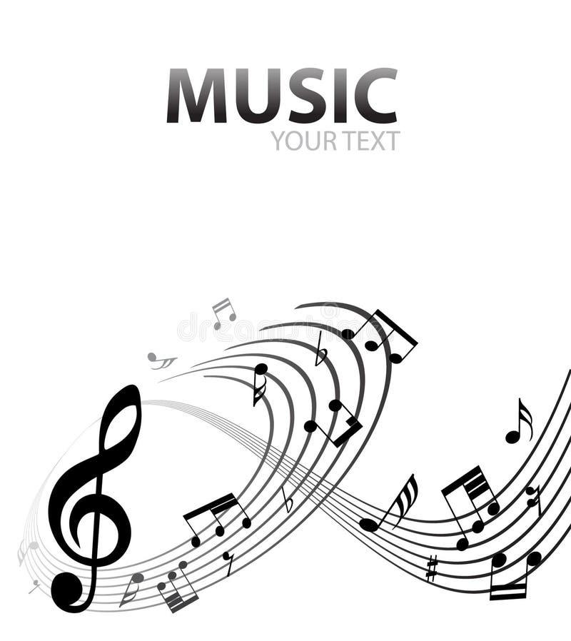 Download Fundo musical ilustração do vetor. Ilustração de incandescer - 26500284
