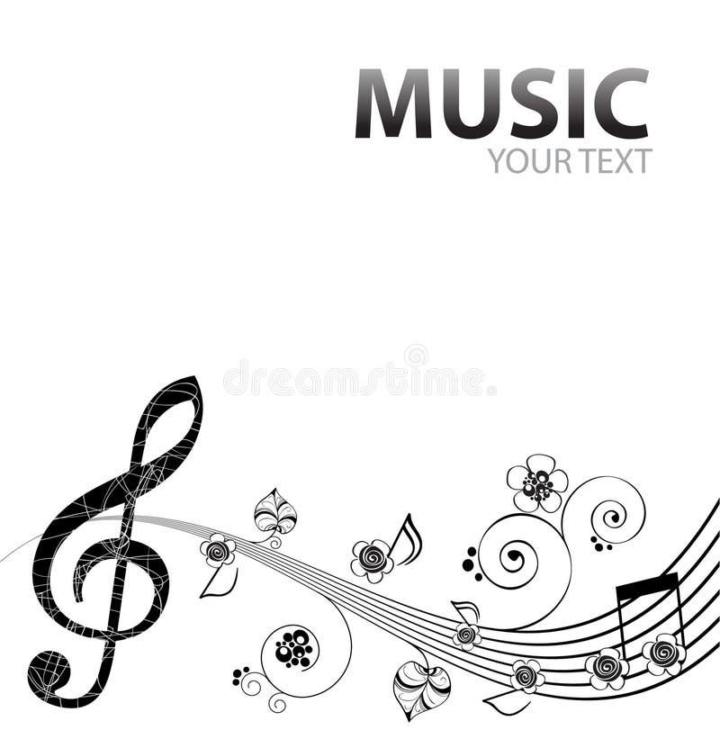 Download Fundo musical ilustração do vetor. Ilustração de sons - 26500302