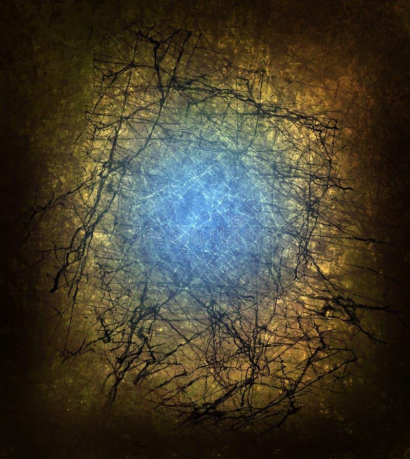 Fundo Mystical ilustração royalty free
