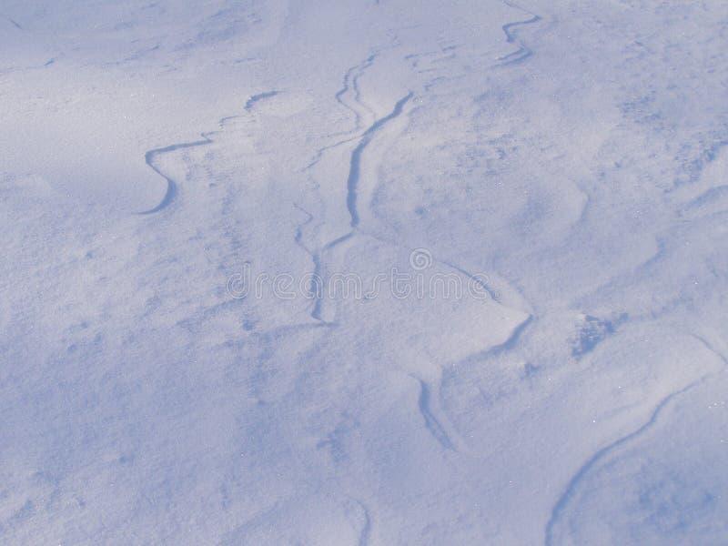 Fundo nevado do inverno imagens de stock