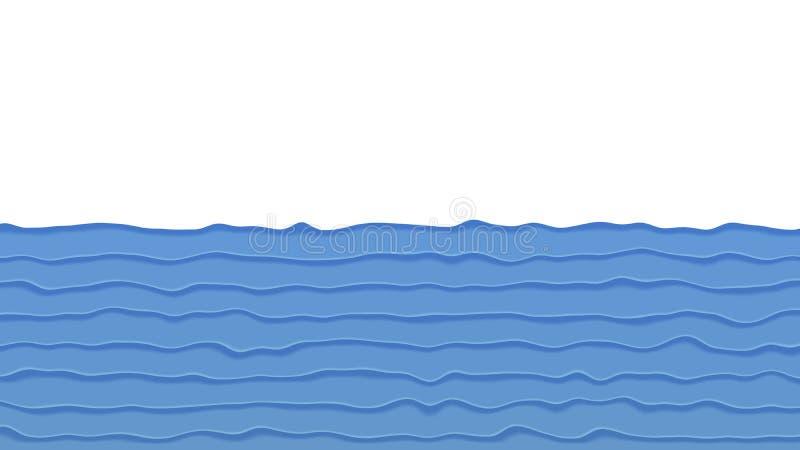 Fundo no estilo de papel ilustração do vetor