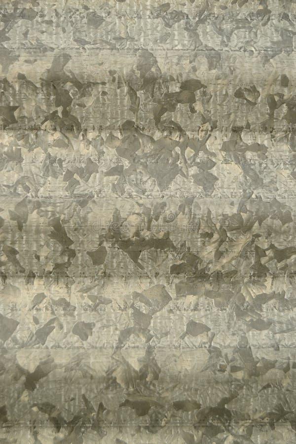 Fundo ondulado do metal imagem de stock