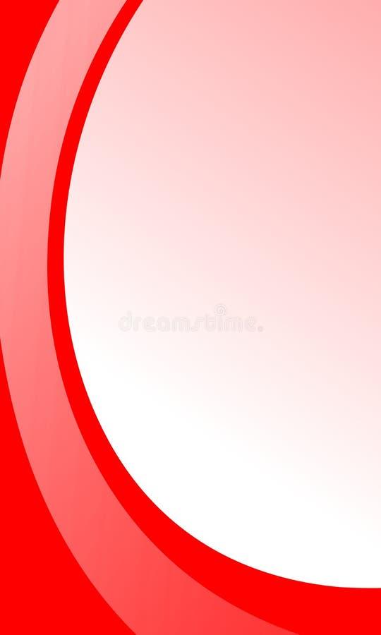 Fundo ondulado protegido colorido com bolhas, papel de parede do vetor abstrato, ilustração do vetor ilustração stock