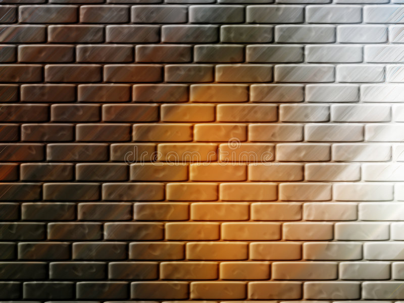 Fundo ou papel de parede da parede de tijolo imagem de stock