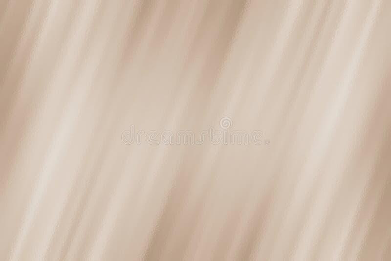 Fundo ou teste padrão de vidro abstrato bege da textura ilustração stock
