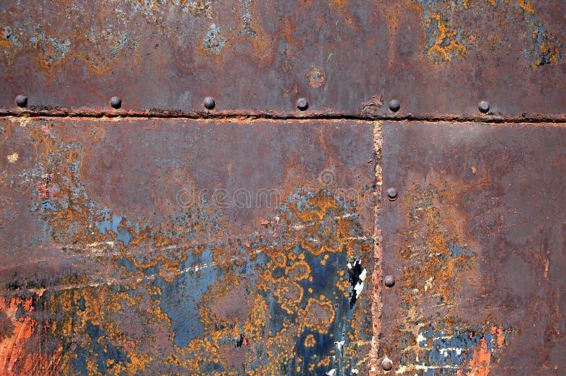 Fundo oxidado 15 do metal imagem de stock royalty free