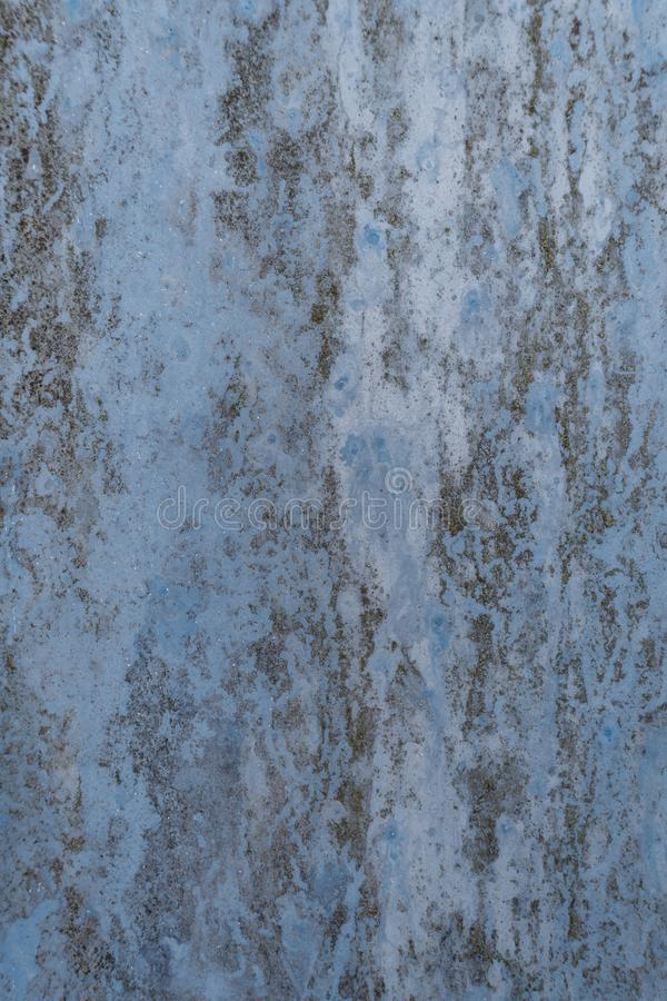 Fundo oxidado azul foto de stock