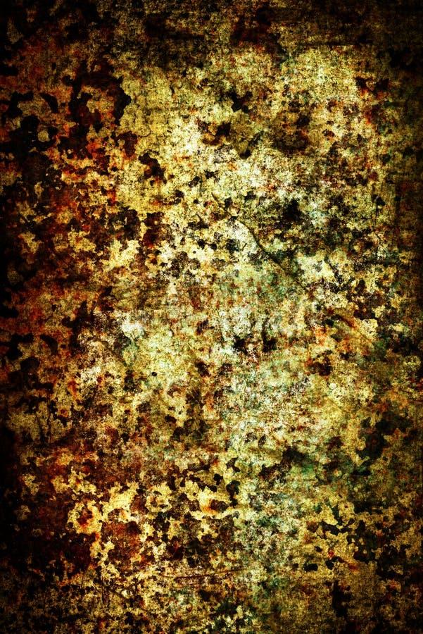 fundo Oxidado-colorido do grunge foto de stock