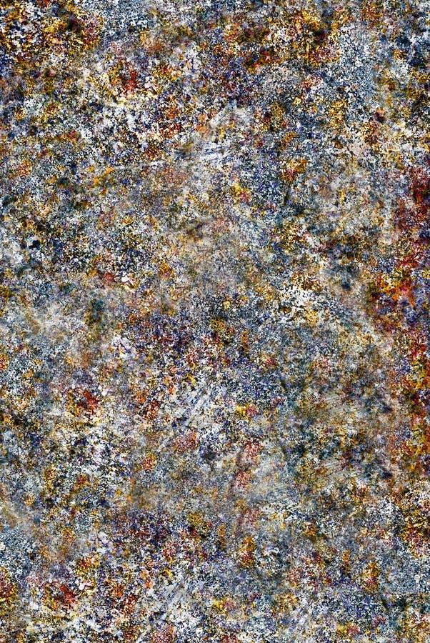 fundo Oxidado-colorido do grunge imagens de stock