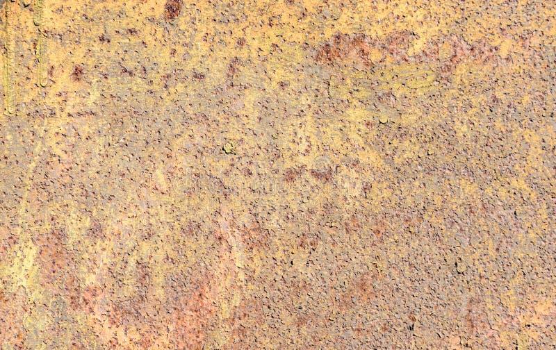 Fundo oxidado da placa de metal fotos de stock