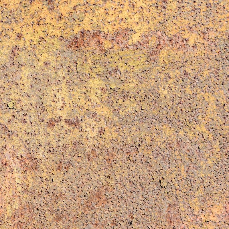 Fundo oxidado da placa de metal fotografia de stock royalty free