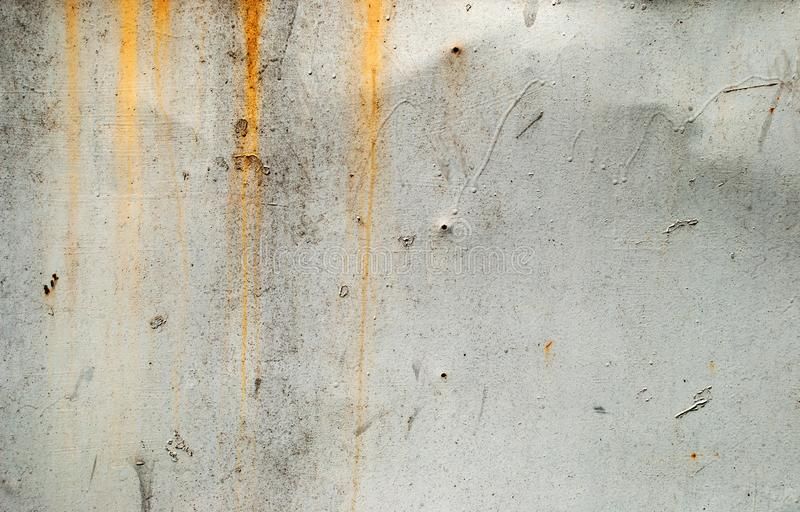 Fundo oxidado e danificado do metal fotos de stock royalty free