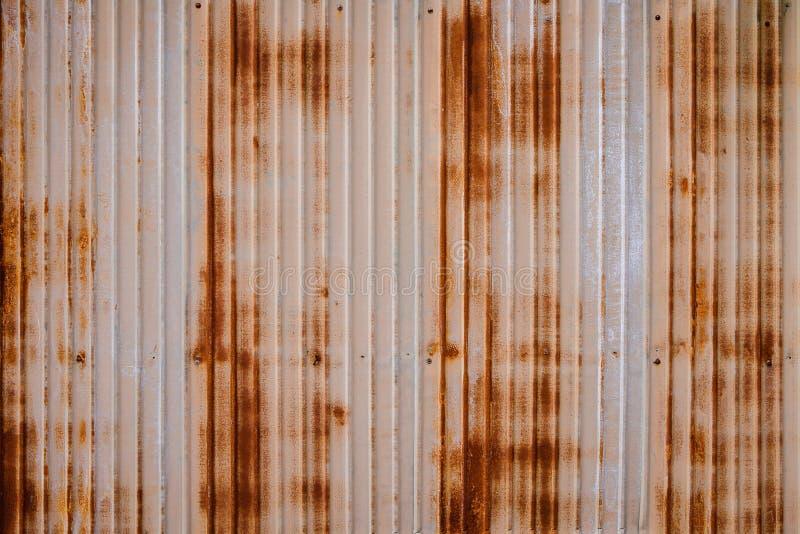 Fundo oxidado resistente do metal com não o patten repetitivo do enxerto Imagem do conceito para a urbanização, steampunk, constr imagens de stock royalty free