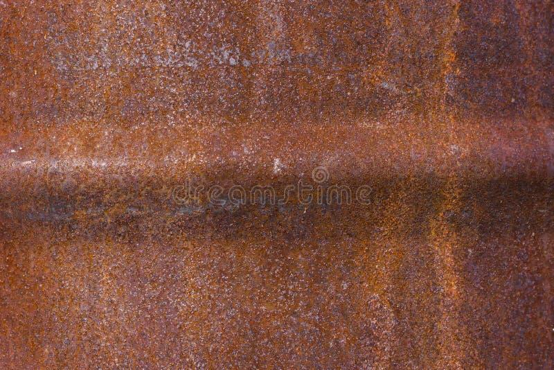 Fundo oxidado vestido escuro Oxidação do ferro do Grunge imagem de stock royalty free