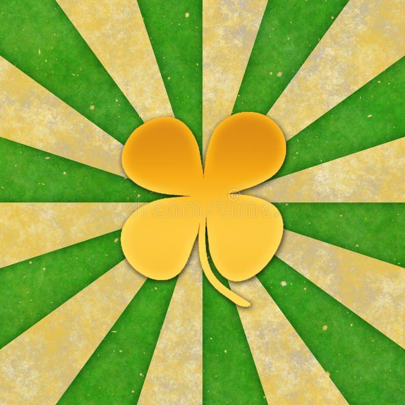 Fundo para o dia de St Patrick. ilustração royalty free