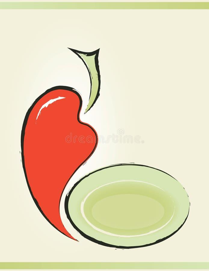 Download Pimenta ilustração do vetor. Ilustração de pimenta, gourmet - 29847514