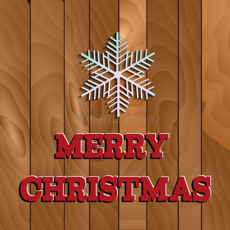 Fundo para o tema do inverno e do Natal ilustração do vetor