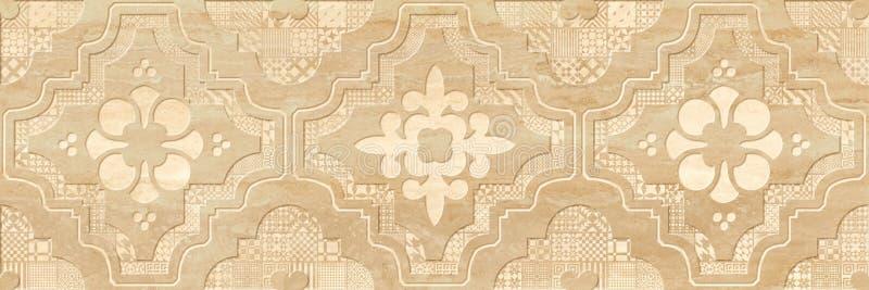 Fundo para telhas da parede, textura fotografia de stock royalty free