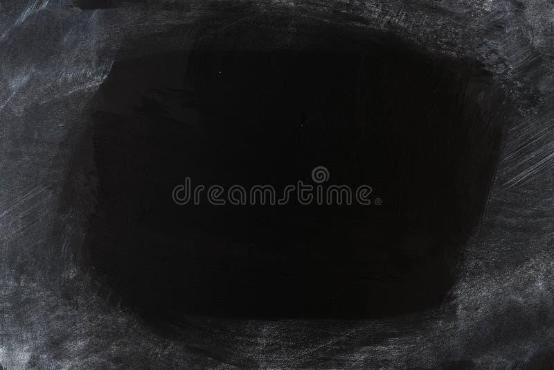 Fundo parcialmente limpado do quadro-negro foto de stock