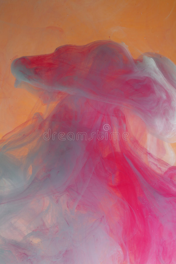Fundo pastel aquoso foto de stock