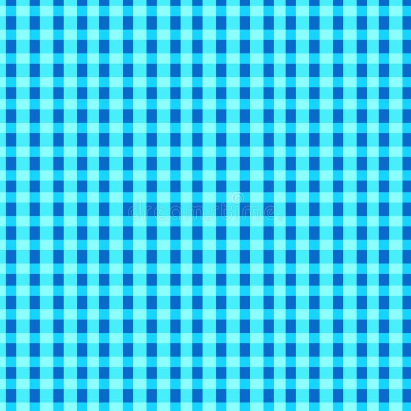 Fundo pastel azul do teste padrão da manta ilustração royalty free