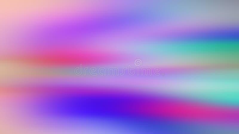Fundo pastel borrado abstrato da cor em roxo, cor-de-rosa, vermelho, azul, verde imagem de stock