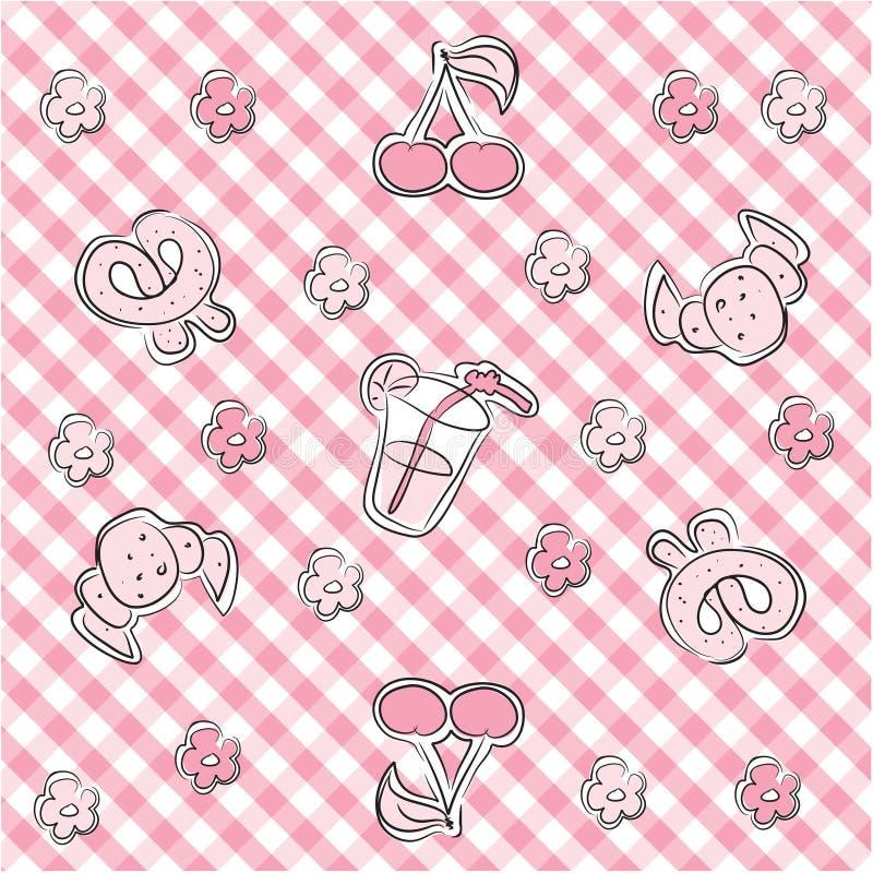 Download Fundo Pastel Cor-de-rosa Do Bebê Ilustração do Vetor - Ilustração de elemento, feliz: 10067099