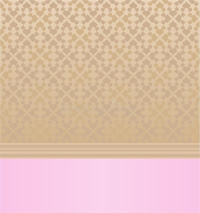 Fundo Pastel do vintage ilustração royalty free