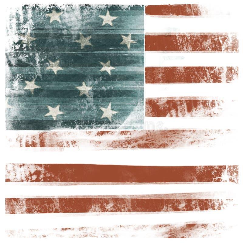 Fundo patriótico americano ilustração stock