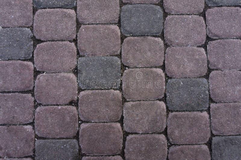 Fundo Pedra de pavimentação Textura sem emenda de Tileable fotos de stock royalty free
