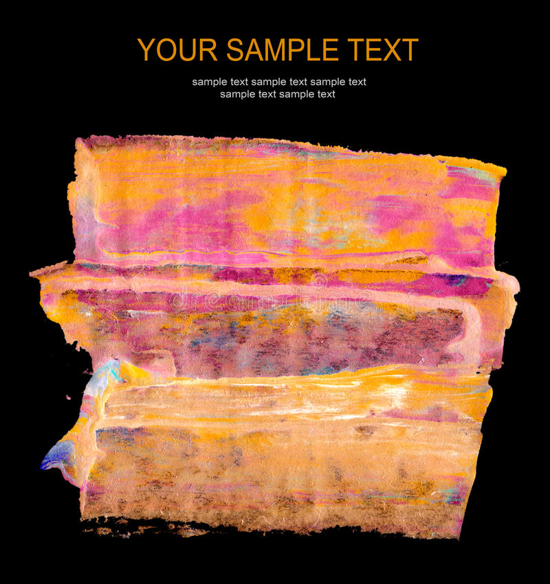 Download Fundo Pintado Acrílico Abstrato Imagem de Stock - Imagem de acrílico, superfície: 16857027