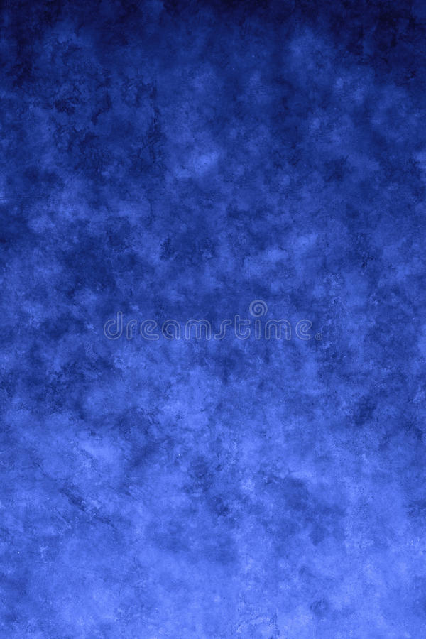 Fundo pintado azul da lona fotografia de stock royalty free