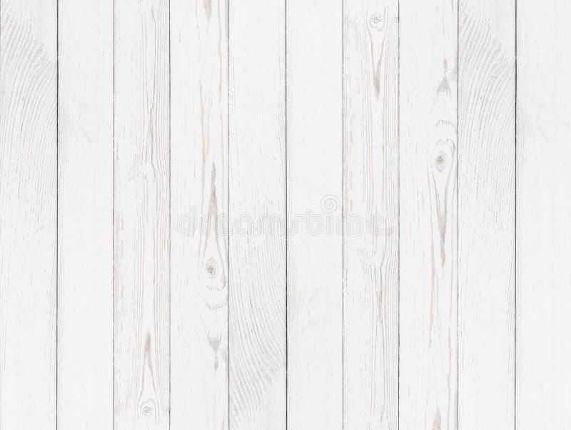 Fundo pintado branco de madeira do Grunge foto de stock royalty free