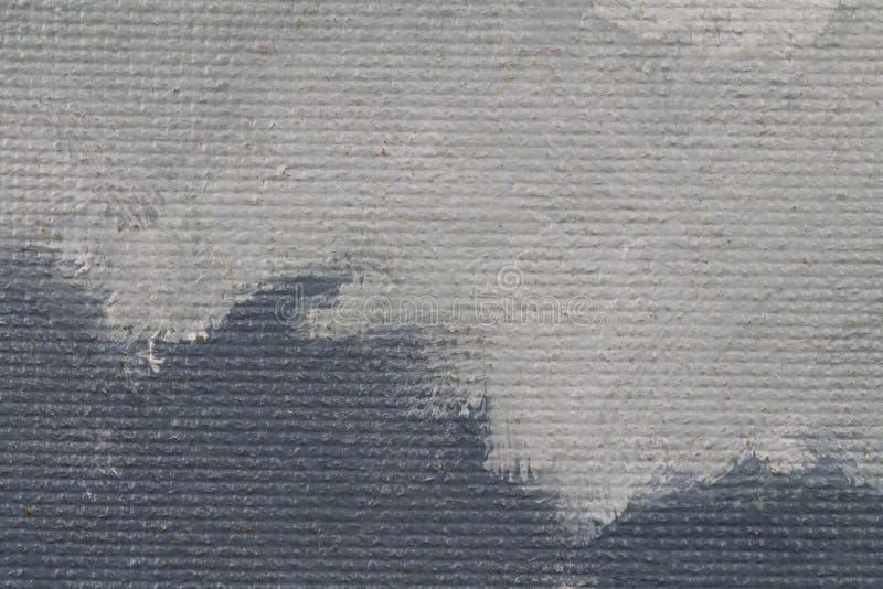 Fundo pintado da textura com cores cinzentas ilustração stock