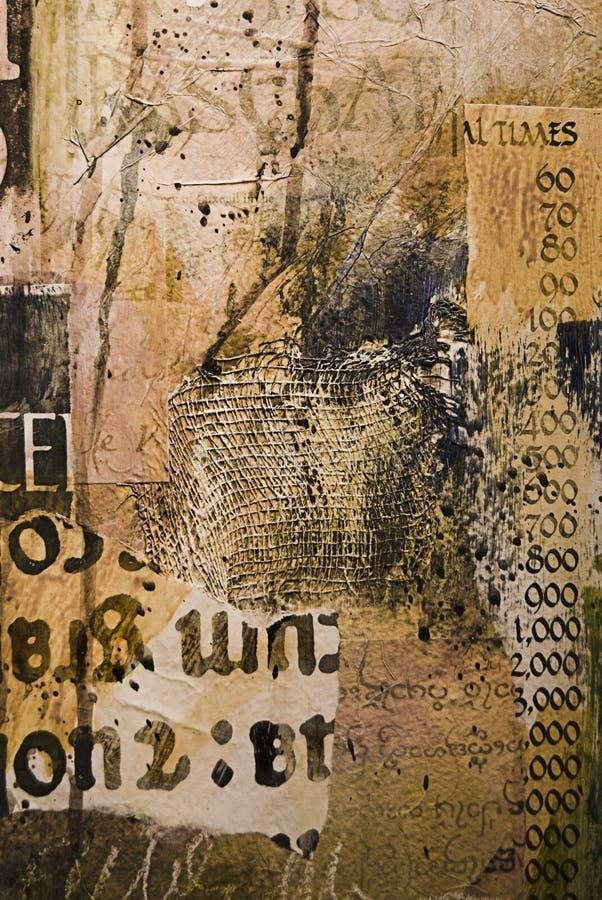 Fundo pintado e textured do sumário fotografia de stock royalty free