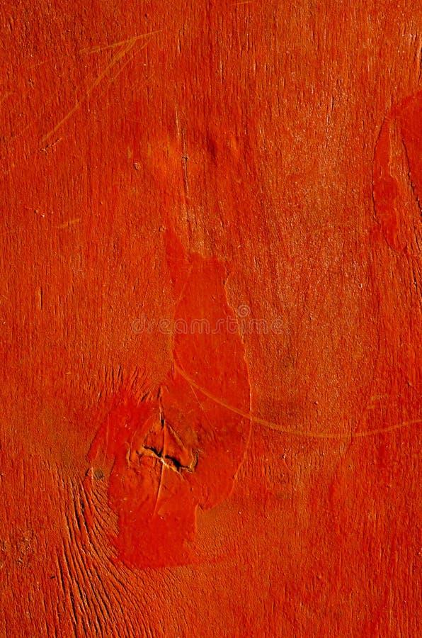 Fundo pintado vermelho da madeira compensada imagens de stock