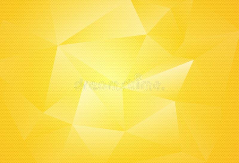 Fundo poligonal abstrato para o folheto, a bandeira e as tampas do local, feitos com formas geométricas para usar-se para cartaze ilustração royalty free