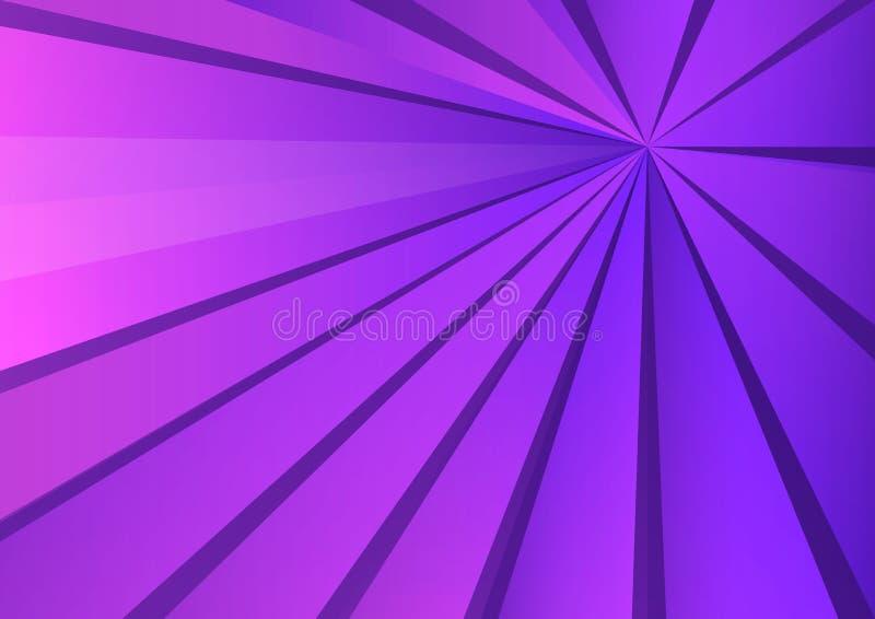 Fundo poligonal roxo, ilustração do vetor, textura abstrata ilustração stock