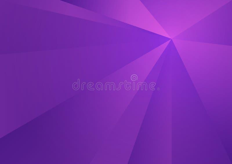Fundo poligonal roxo, ilustração do vetor, textura abstrata ilustração royalty free