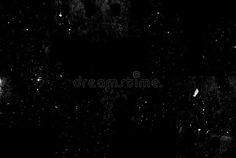 Fundo preto abstrato com projeto da textura do grunge do vintage, bandeira de papel áspera velha imagem de stock royalty free