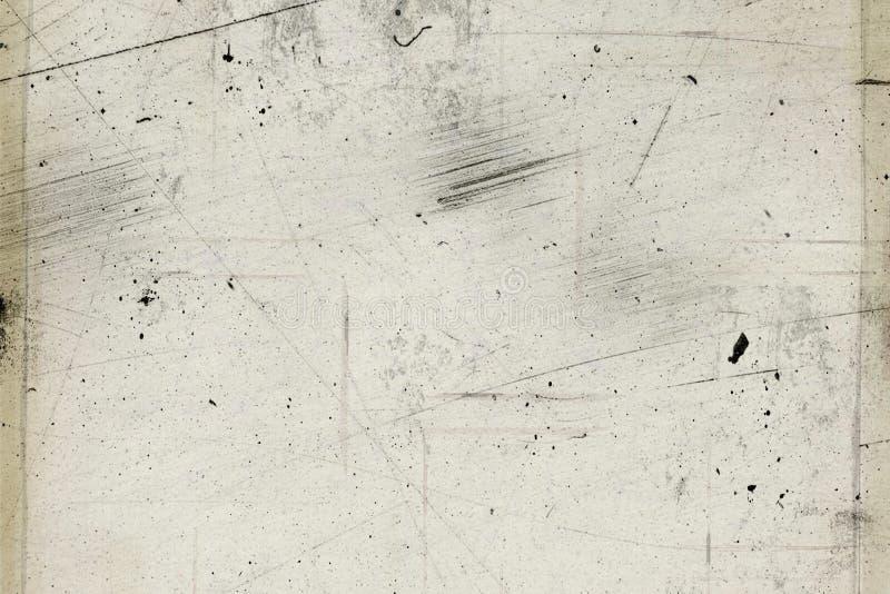 Fundo preto abstrato com projeto da textura do grunge do vintage, bandeira de papel áspera velha foto de stock