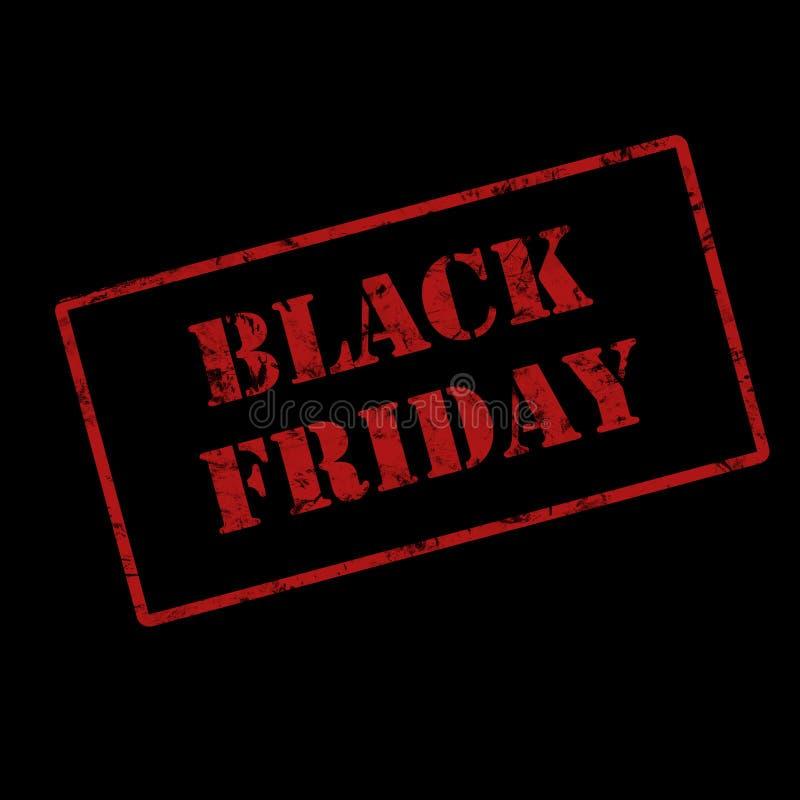 Fundo preto abstrato da disposição da venda de sexta-feira Para o projeto do molde da arte, lista, página, estilo do folheto do m ilustração royalty free
