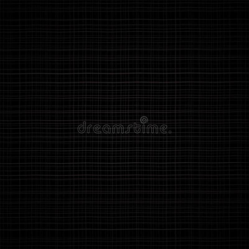 Fundo preto abstrato do vetor da grade do grunge ilustração royalty free