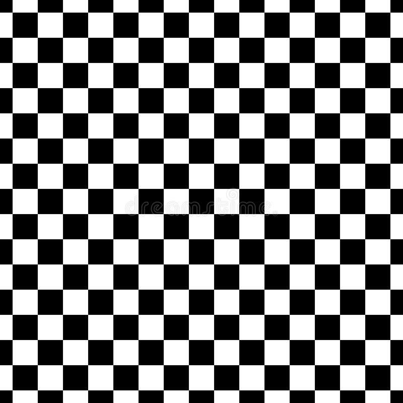 Fundo preto & branco geométrico diagonal floral sem emenda decorativo do teste padrão Complicado, material ilustração do vetor