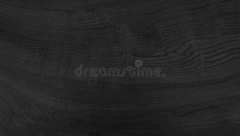 Fundo preto de madeira ilustração stock