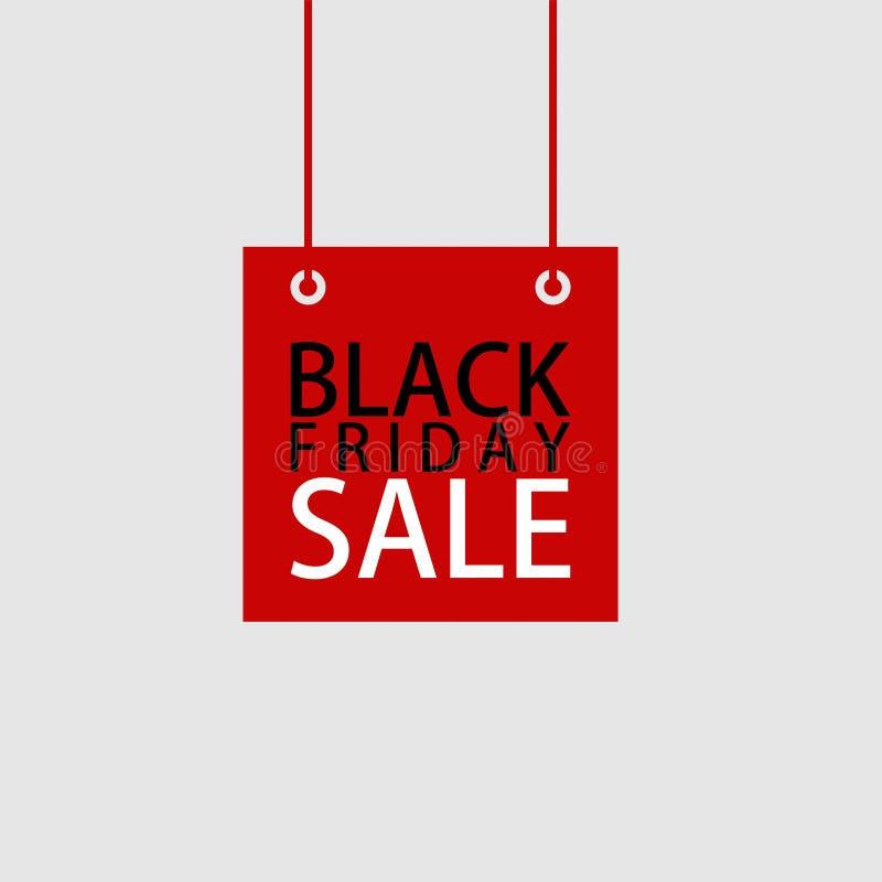 Fundo preto 13 do vetor da venda de sexta-feira ilustração do vetor