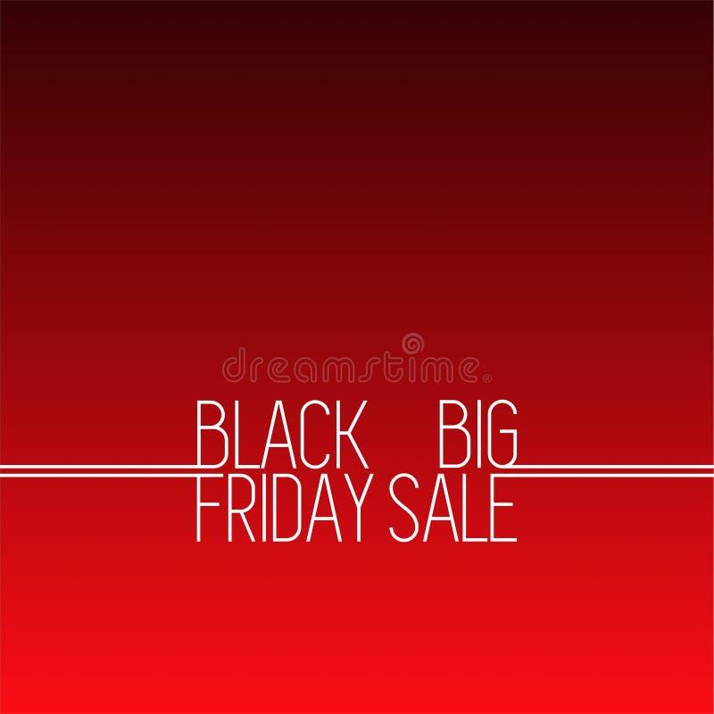 Fundo preto 6 do vetor da venda de sexta-feira ilustração royalty free